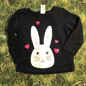 Cute bunny pull over sweater